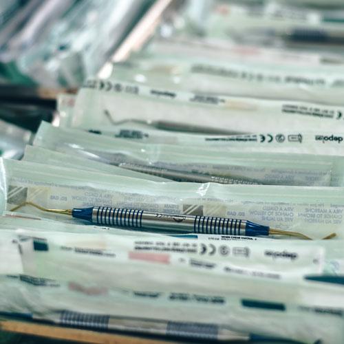 Sachets stérilisés dentiste - Normes et stérilisation